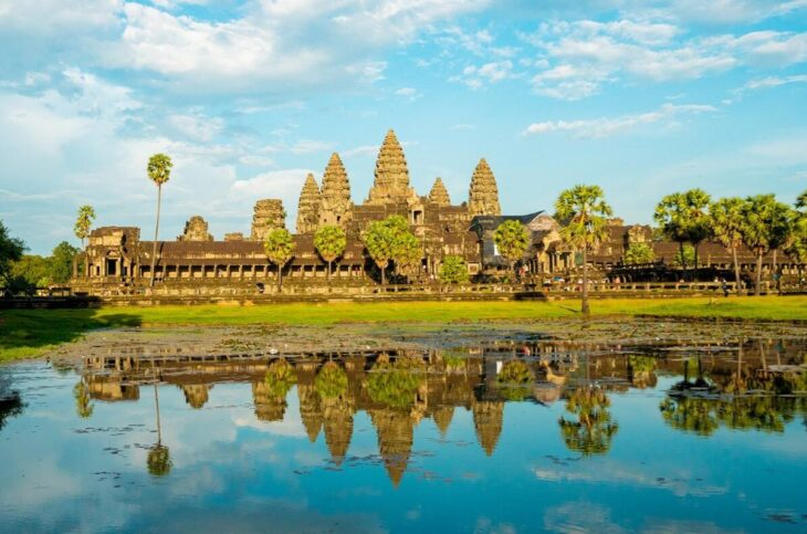 Angkor Wat and Angkor Thom