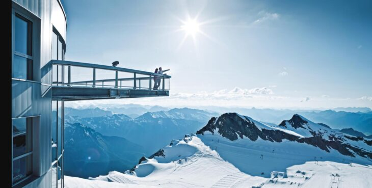 The 8 most beautiful viewing platforms in Austria